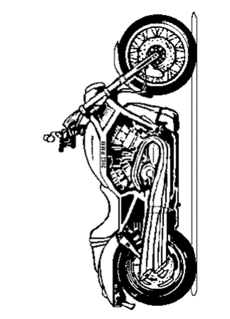 Harley Davidson Vrscaw I on Yamaha R1