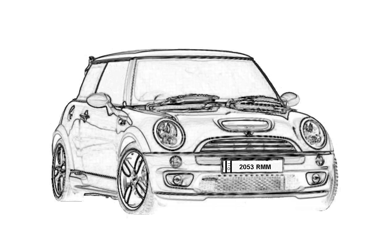 Índice de dibujos: coches