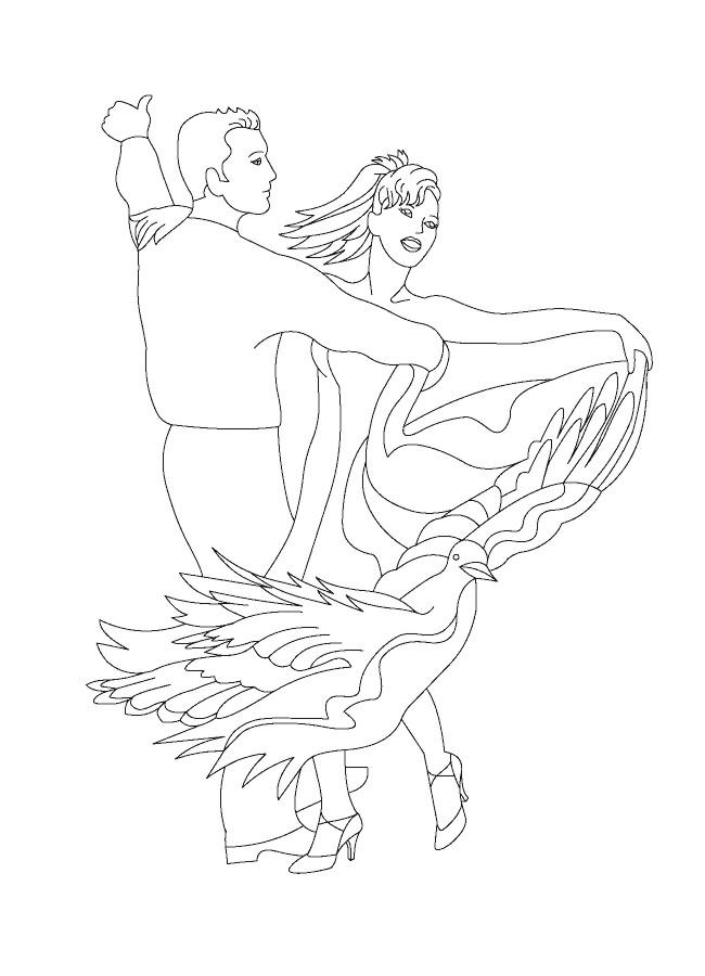Dibujos De Bailes