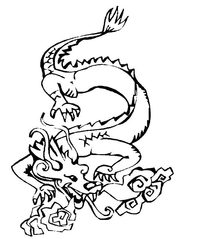 ndice de dibujos dragones