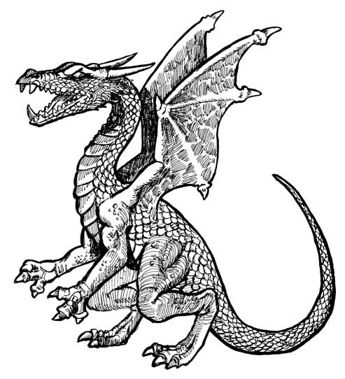 Índice de dibujos: dragones