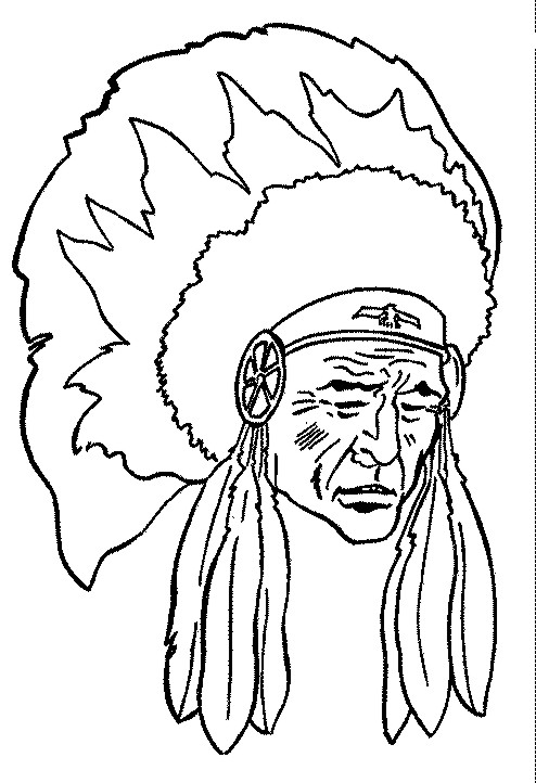 Coloring pages Native Americans  32 coloring pages