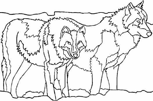 Dibujos para colorear de hombres lobo de halloween auto - Dibujos de halloween ...