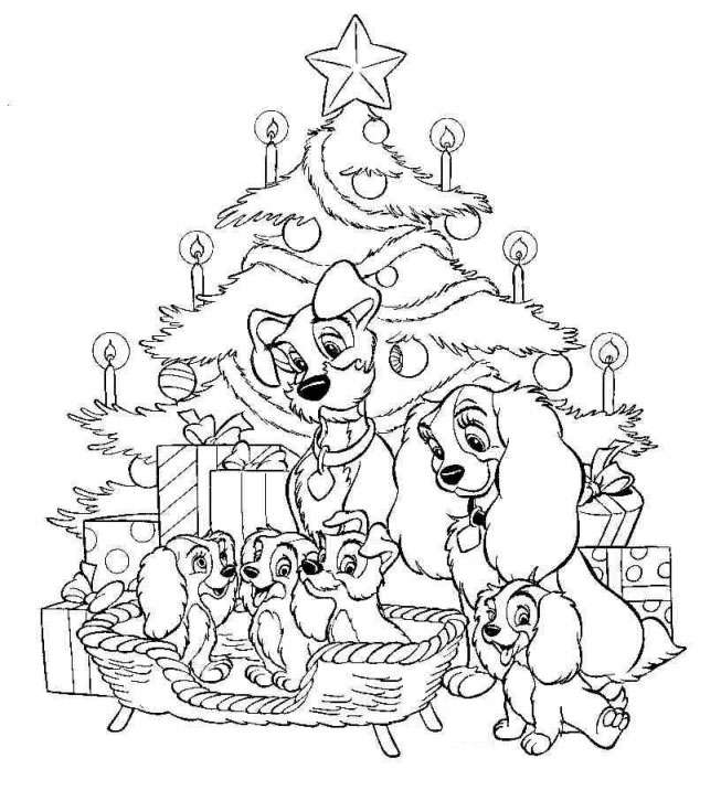 Disney.com Coloring Pages Christmas