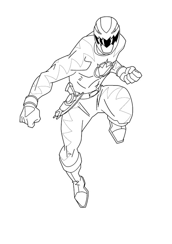 free coloring pages of r rangers dino thunder