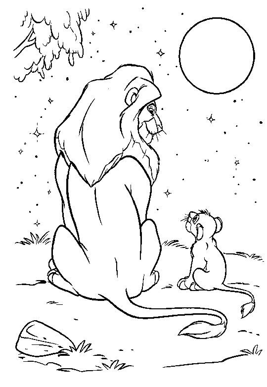 Índice de dibujos: rey león