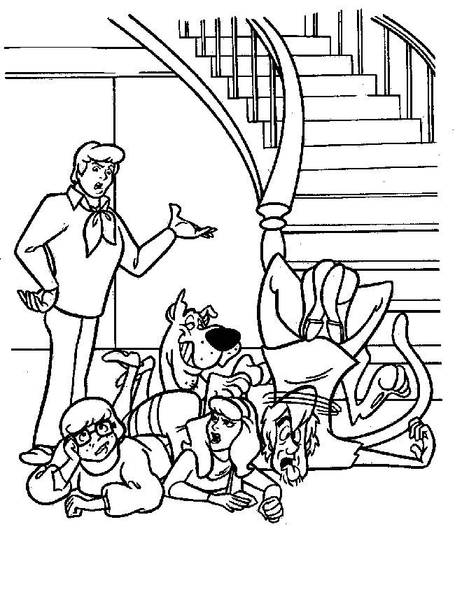 Índice de dibujos: scooby doo