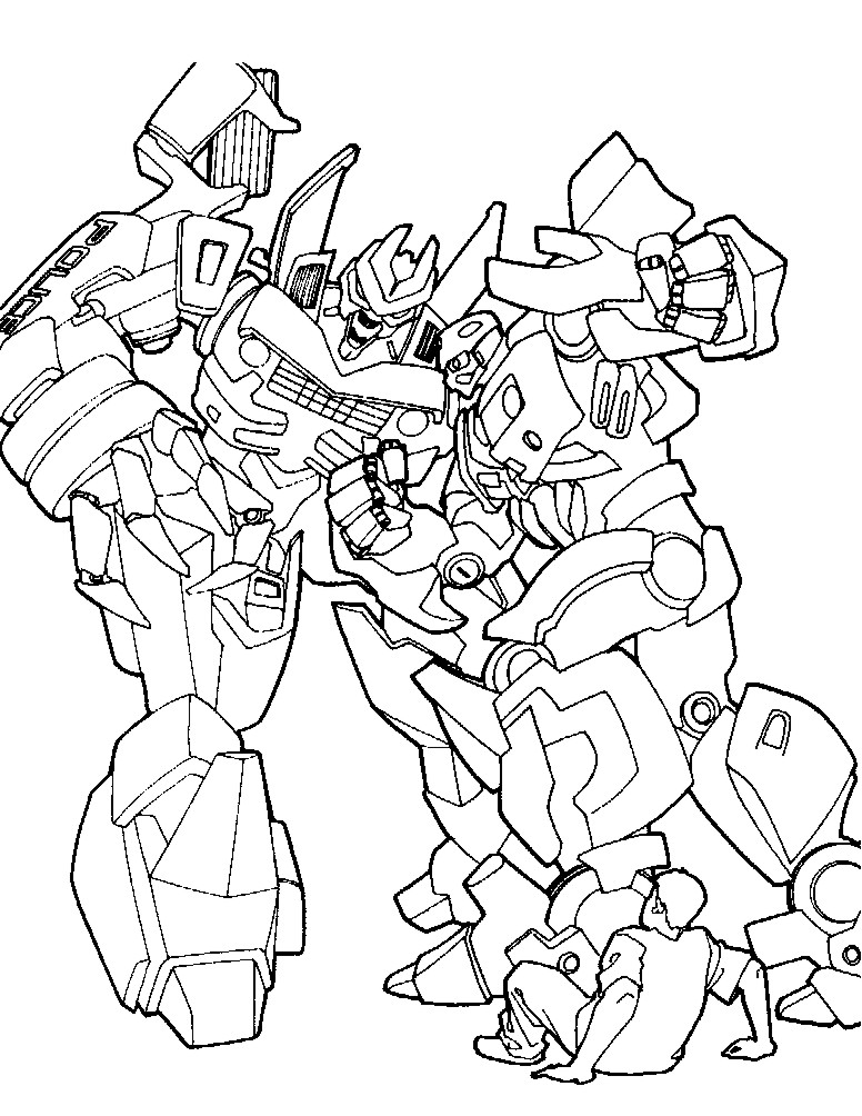 Indice De Dibujos Transformers